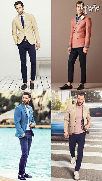 کت های رنگی