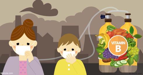 تاثیر ویتامین B بر پیشگیری از اثرات سمی آلودگی هوا بر بدن انسان