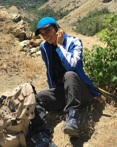 تیپ تینا آخوندتبار در زمان کوهنوری