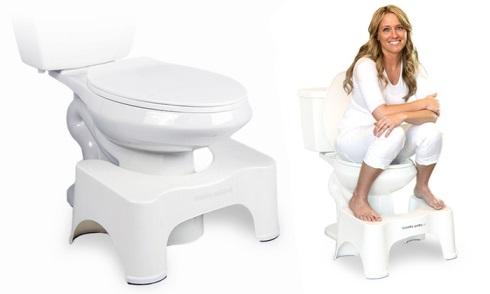 استفاده از توالت فرنگی