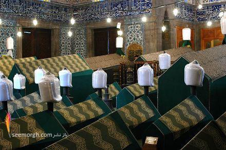 محل دفن سلطان احمد