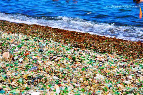 ساحل زیبای شیشه ای در روسیه 3