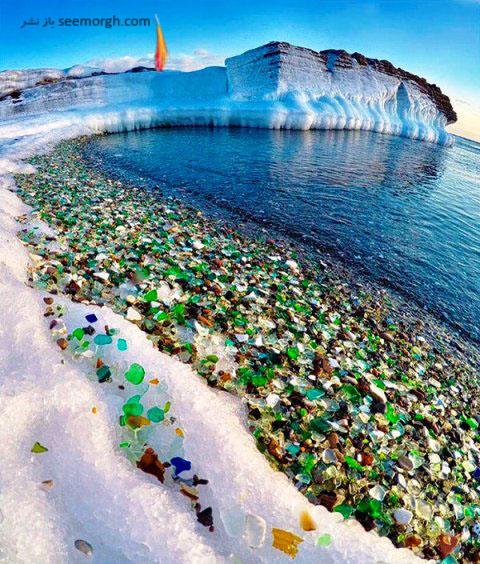 ساحل زیبای شیشه ای در روسیه 2