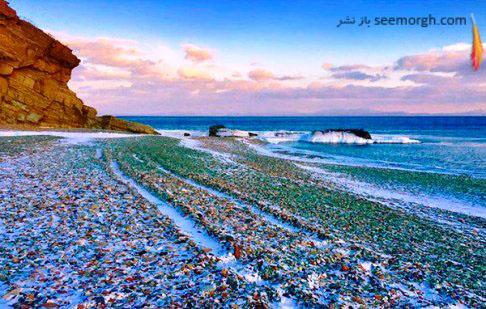 ساحل زیبای شیشه ای در روسیه 1