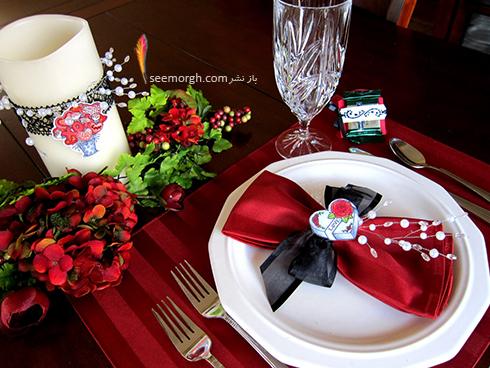 چیدن میز شام رمانتیک برای ولنتاین - ایده شماره 2