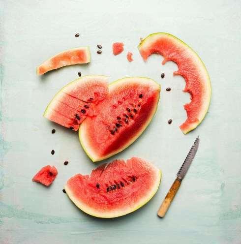 15. هندوانه و گوجه فرنگی