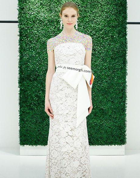 لباس عروس از کلکسیون تابستانی کارولینا هررا Carolins Herrera - مدل لباس عروس شماره 10