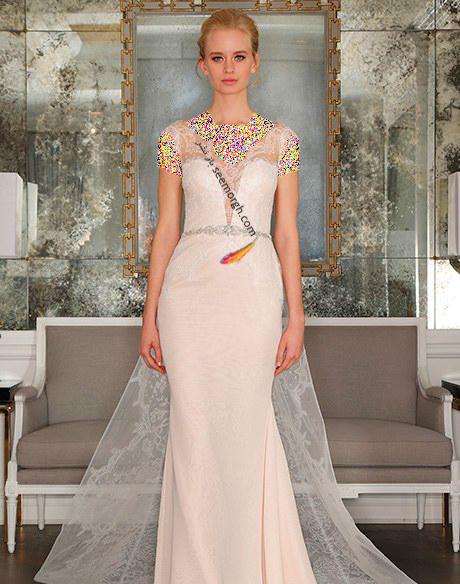 لباس عروس از کلکسیون تابستانی کارولینا هررا Carolins Herrera - مدل لباس عروس شماره 9