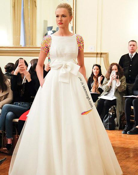 لباس عروس از کلکسیون تابستانی کارولینا هررا Carolins Herrera - مدل لباس عروس شماره 7