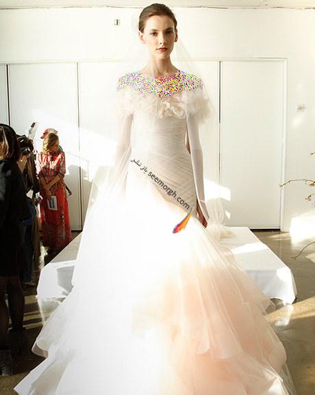لباس عروس از کلکسیون تابستانی کارولینا هررا Carolins Herrera - مدل لباس عروس شماره 6