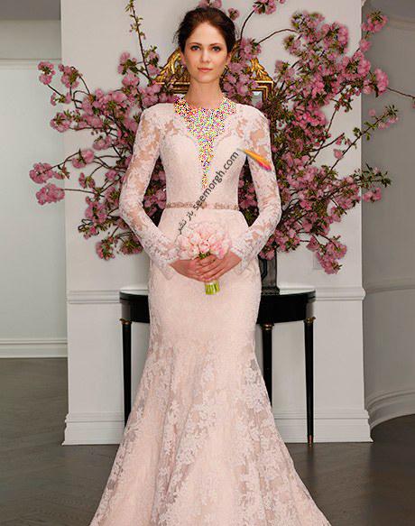 لباس عروس از کلکسیون تابستانی کارولینا هررا Carolins Herrera - مدل لباس عروس شماره 5