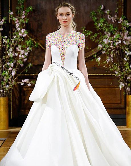 لباس عروس از کلکسیون تابستانی کارولینا هررا Carolins Herrera - مدل لباس عروس شماره 4