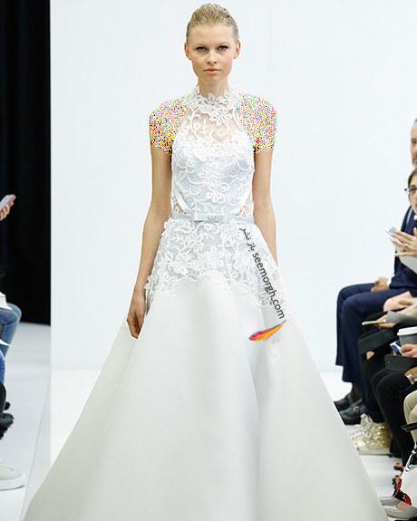 لباس عروس از کلکسیون تابستانی کارولینا هررا Carolins Herrera - مدل لباس عروس شماره 3