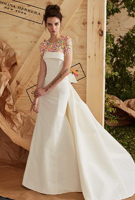 لباس عروس از کلکسیون تابستانی کارولینا هررا Carolins Herrera - مدل لباس عروس شماره 2