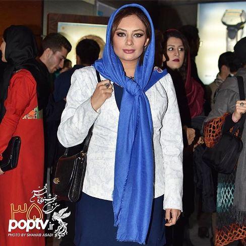 ظاهر یکتا ناصر در حاشیه جشنواره فیلم فجر