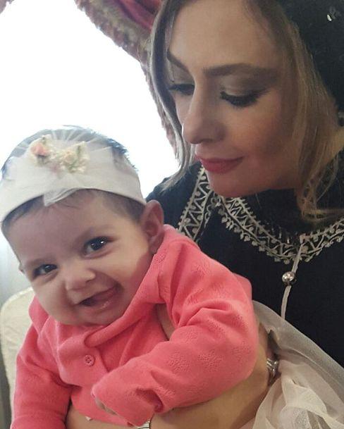 یکتا ناصر و دخترش سوفی