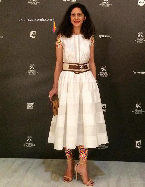 زهرا امیر ابراهیمی در جشنواره کن 2017