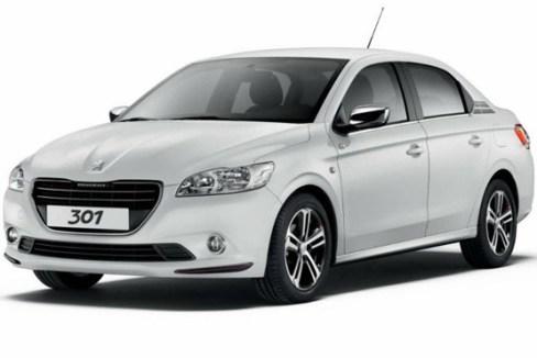 نمای پژو 301 محصول جدید ایران خودرو