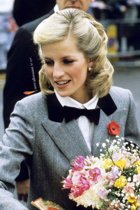 مدل مو پرنسس دایانا Diana در سال 1984
