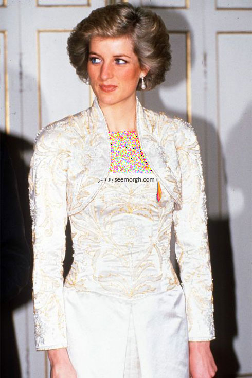 مدل مو پرنسس دایانا Diana در سال 1988