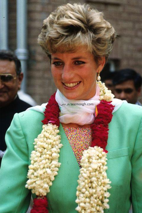مدل مو پرنسس دایانا Diana در سال 1991