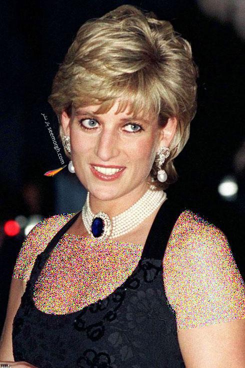 مدل مو پرنسس دایانا Diana در سال 1995