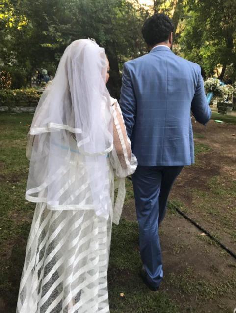 عکس بهاره رهنما و همسرش امیرخسرو عباسی