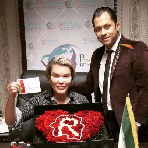 جراحی زیبایی رودریگو آلوز در ایران