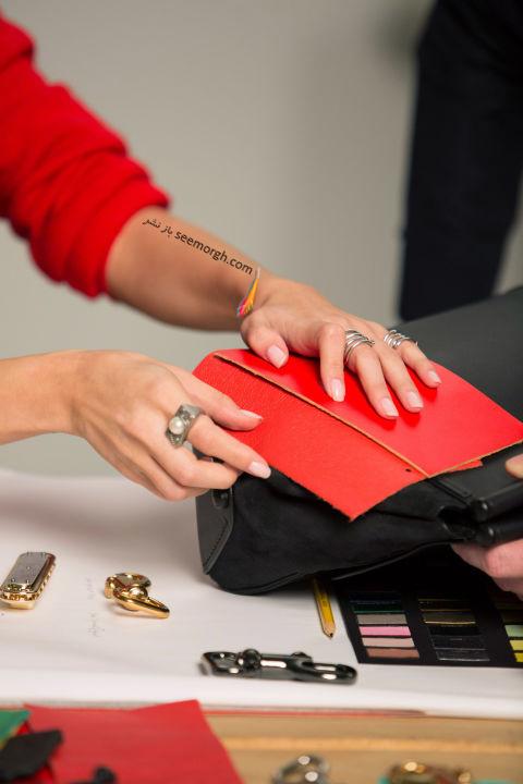 سلنا گومز مجموعه کیف خود از برند Coach را طراحی کرد - عکس شماره 6