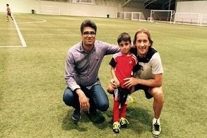 فوتبالیست ۶ساله نابغه ایرانی به رئال مادرید پیوست+عکس