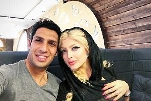 عکس سپهر حیدری جدید|تصاویر جدید سپهر حیدری و همسرش