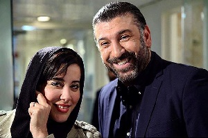 جگر خوردن علی انصاریان با بازیگر زن مشهور + عکس