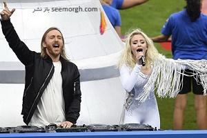 تصاویری زیبا از مراسم اختتامیه یورو 2016