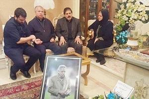 گریه عباس جدیدی و جمله ای که همسر پورحیدری