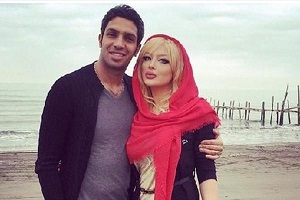 تبریک خاص سپهر حیدری برای روز عشق به همسرش