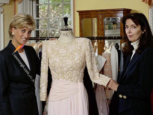 پرنسس دایانا Diana و کاترین واکر catherine walker