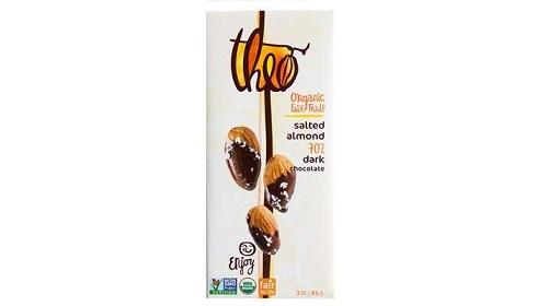 بادام شور شکلاتی 70% تئو