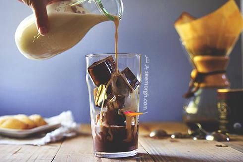 شکلات یخ زده، یک روش عالی برای طعم دادن به شیر در گرمای تابستان