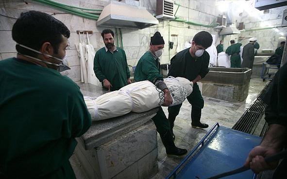 ابتلای کارگران غسال بهشت زهرا به آنفولانزای H1N1