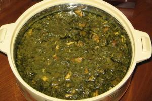 قلیه ماهی(غذای جنوب ایران)