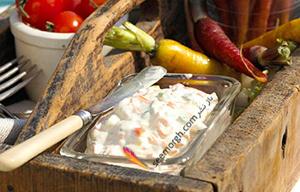طرز تهیه سس پنیر چدار یا سس کوئه سو