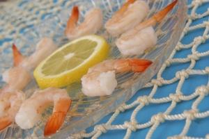 یک غذای سالم دریایی