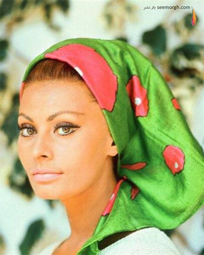 عکس های دیدنی سوفیا لورن Sophia Loren در جوانی