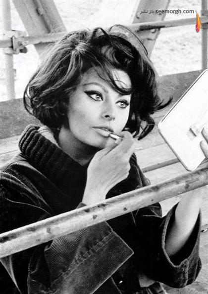 سوفیا لورن Sophia Loren ستاره دوران طلایی هالیوود