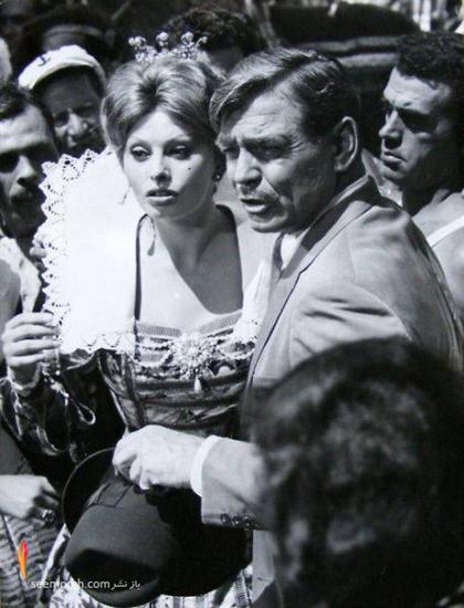 سوفیا لورن و همسرش