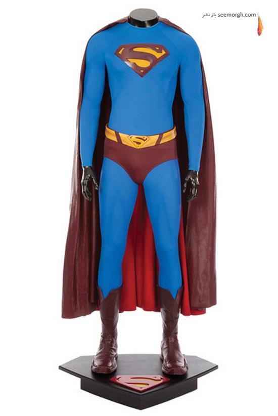 حراجی,مزایده,مزایده هنری,فیلم های هالیوود,لباسهای سوپرمن