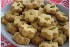 شیرینی,شیرینی نوروزی,شیرینی برای نوروز,شیرینی برای عید,شیرینی خانگی,نان نخودچی خانگی شیرینی مخصوص عید