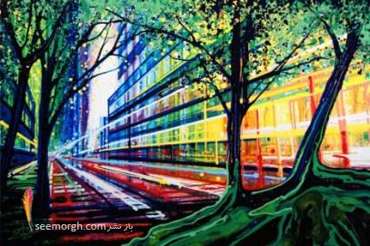 نقاشی,نقاشی رنگ روغن,جاذبه,Amy Shackleton
