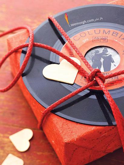 ساخت کشو با مقوا پارچه ساخت هدایای عاشقانه