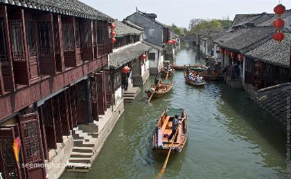 کشور چین,دیدنی های چین,ونیز چین,Zhouzhang